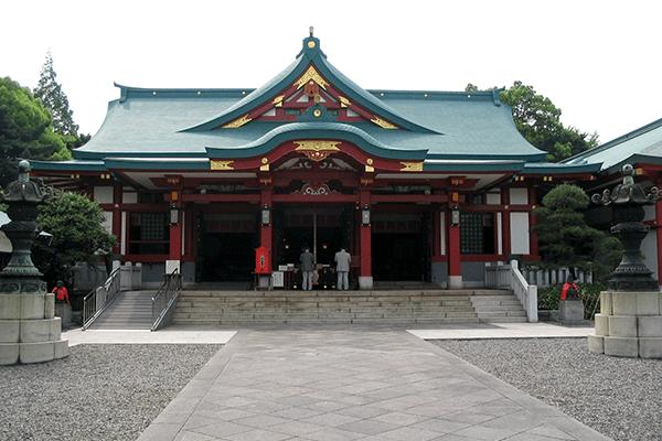 日枝神社のお宮参りとお守りについて