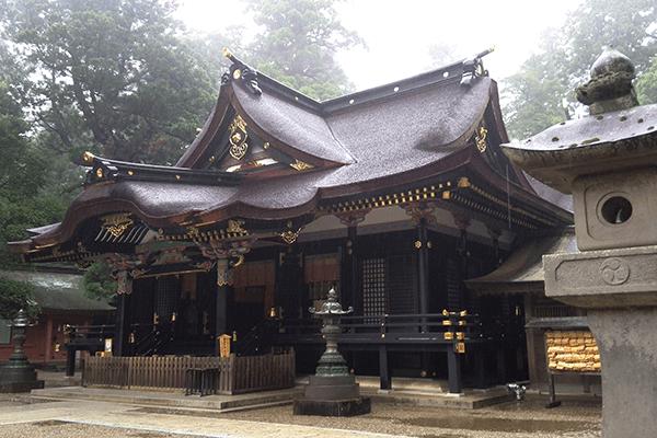 香取神宮の要石はパワースポット?アクセスと場所は?