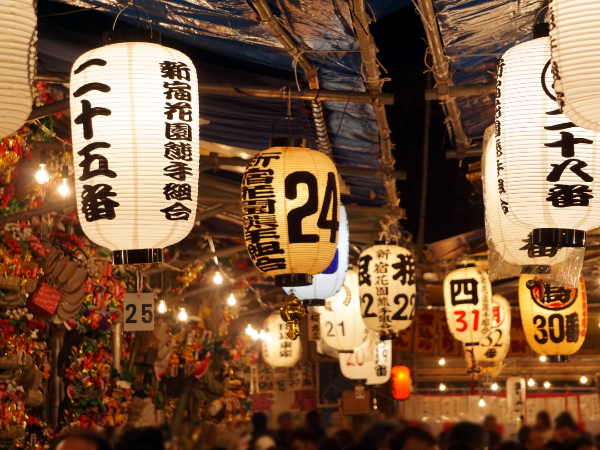 新宿「花園神社」酉の市。前夜祭、見世物小屋の時間は?